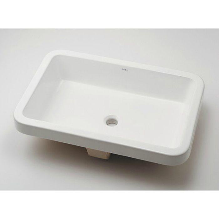 493-172 カウンター設置タイプ アンダーカウンター式洗面器