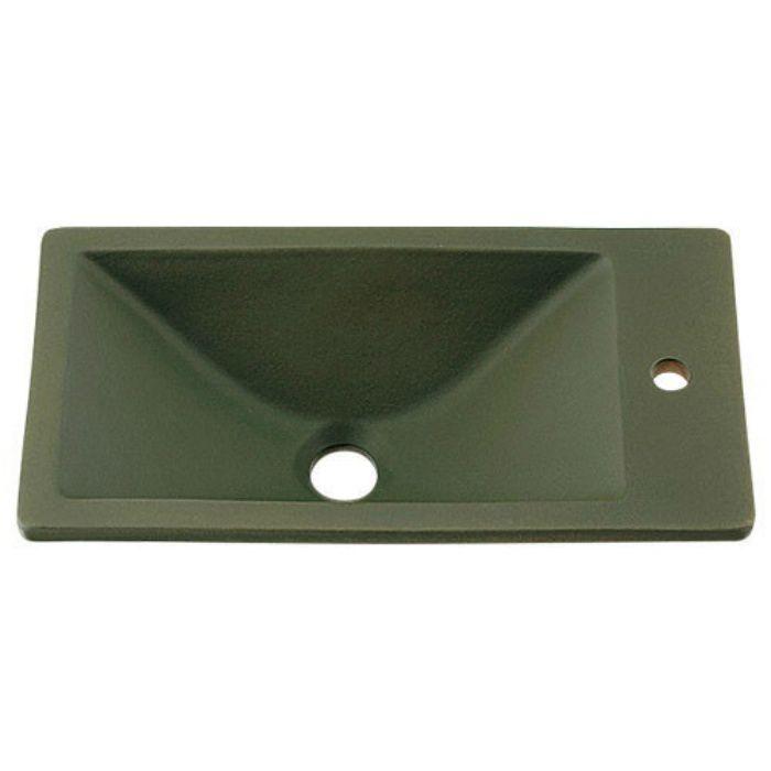 493-010-YG 和風 角型手洗器 松葉