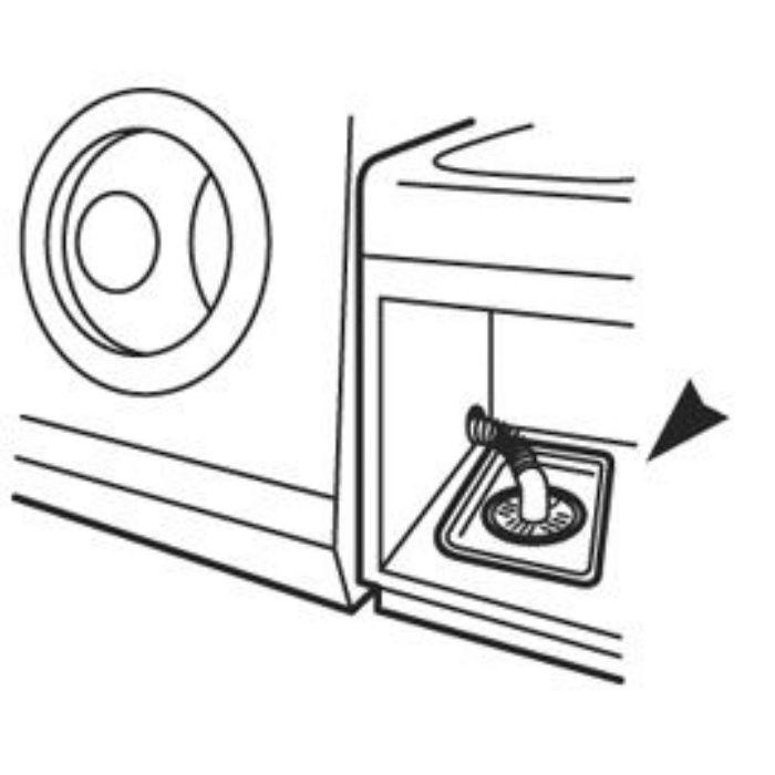 H543F-340 洗濯機パン ホワイト