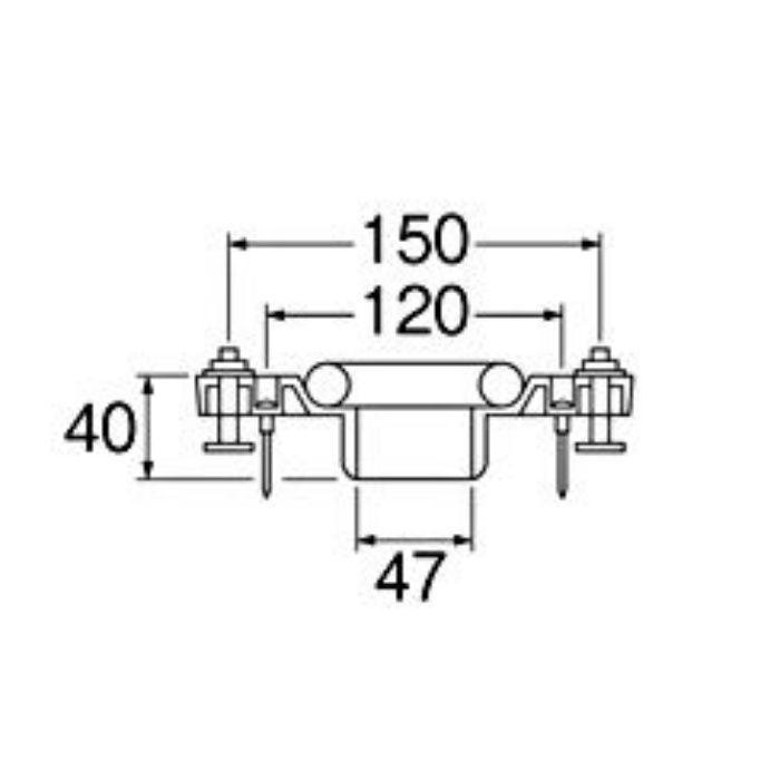 H80-12-50 床フランジ(小便器用)