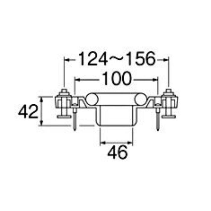 H80-14-50 床フランジ(小便器用)