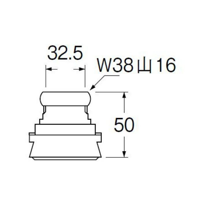 H80-5-32 大便器スパッド