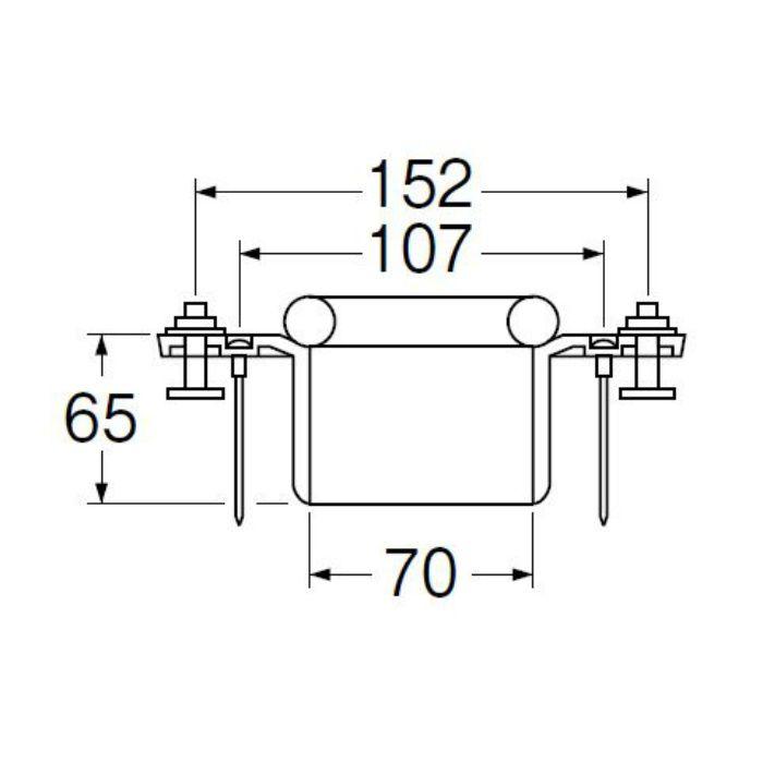 H80-8-75 床フランジ(大便器用)