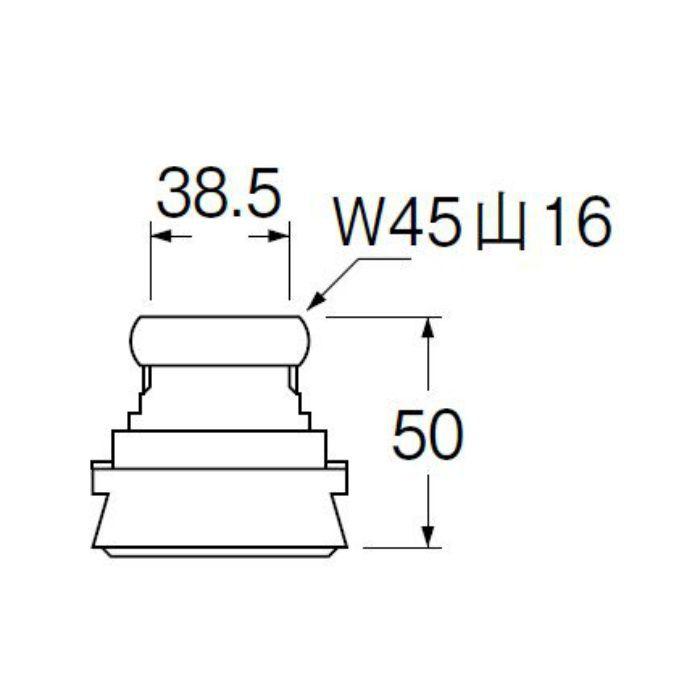 H81-5-38 大便器スパッド