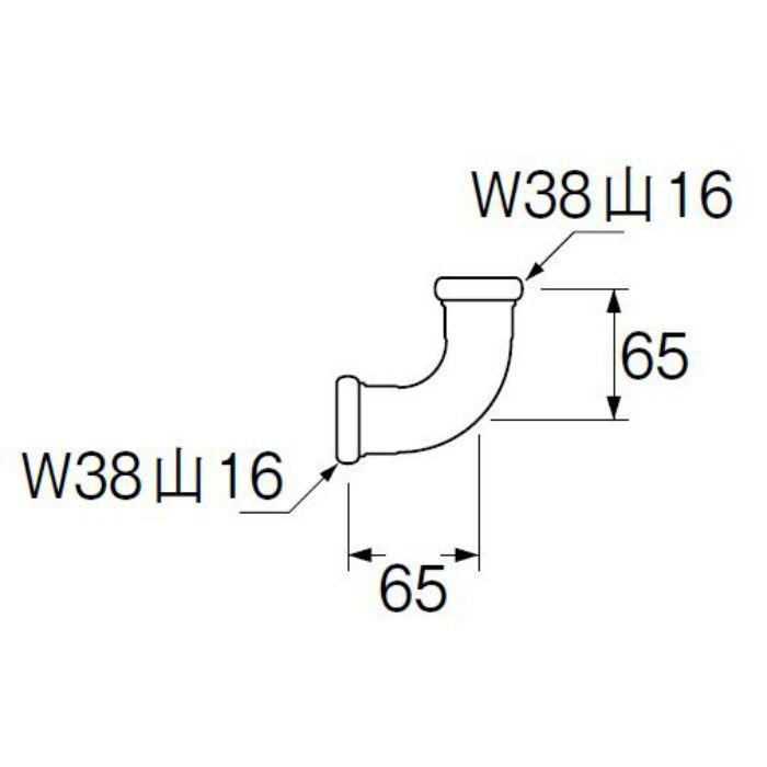 H80-4-32 洗浄管連結エルボ