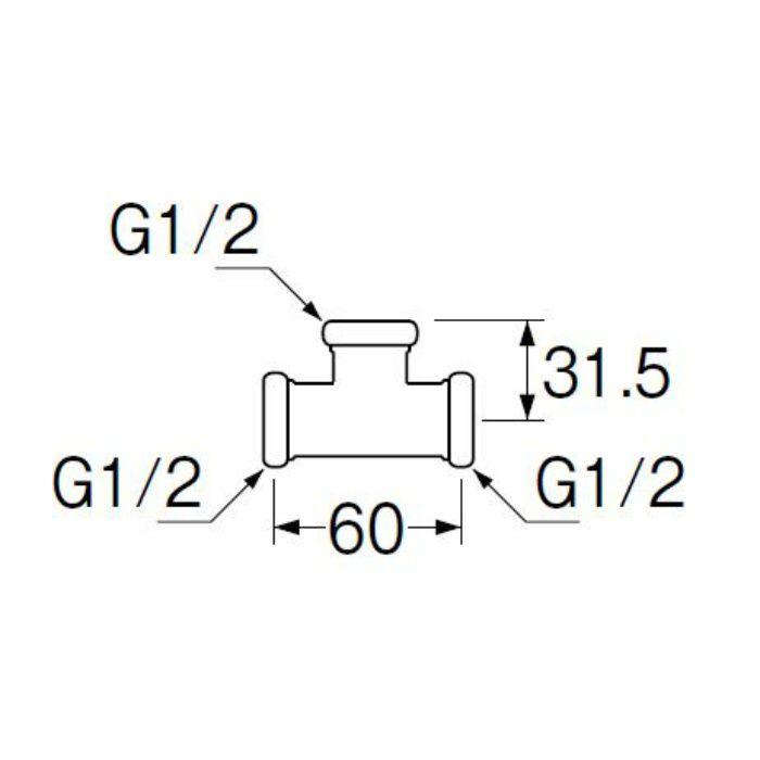 H80-46-13 洗浄管連結チーズ