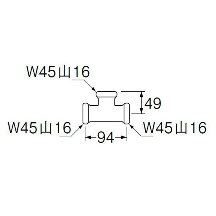 H81-46-38 洗浄管連結チーズ