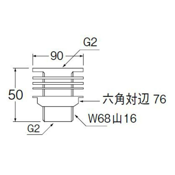 H350-50 タンク取付金具