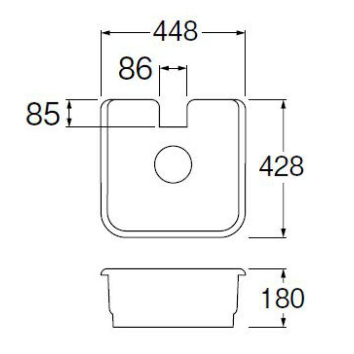 HW80-450 水栓柱パン