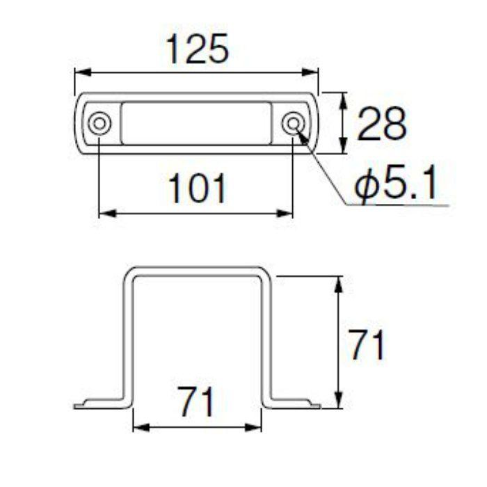 R69-70 水栓柱支持金具