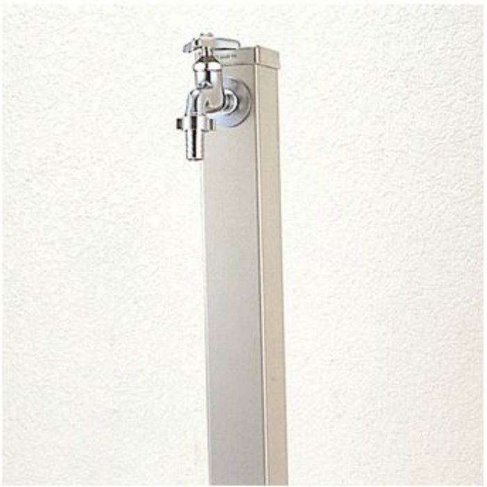 T800H-70X1000 ステンレス水栓柱 内部給水管:HIVP管