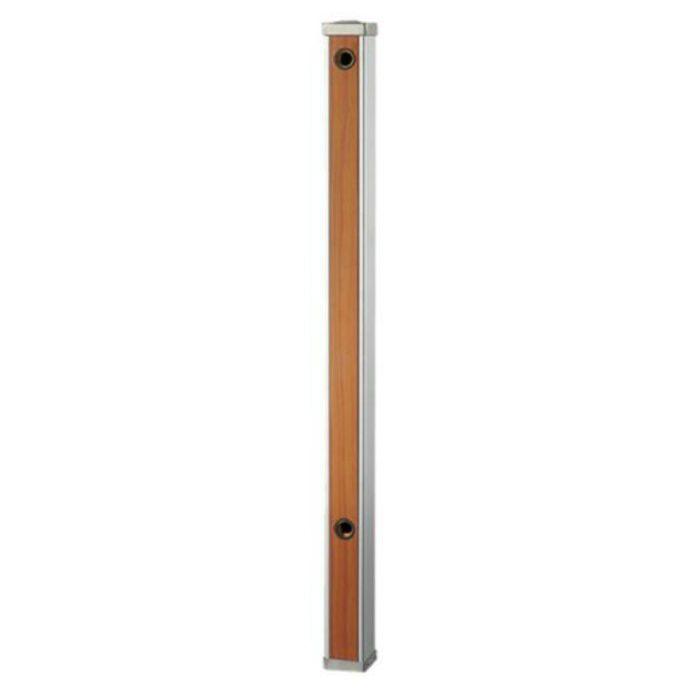 T803-60X900-BR 木目調水栓柱 前面木目調ブラウン