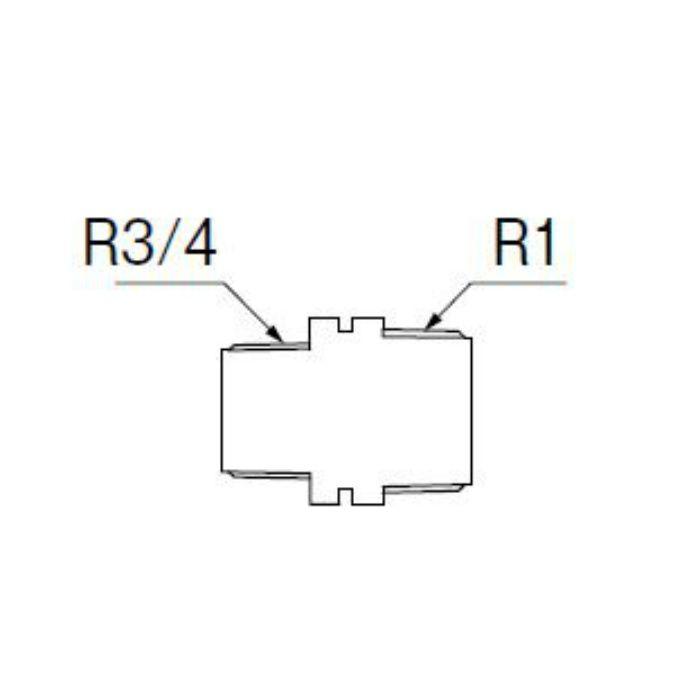 TXH205-1-25X20-ZA PC異径ニップル 樹脂製継手