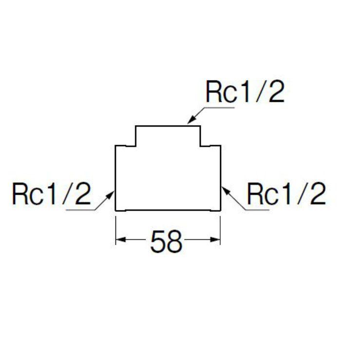 TXH770-13-ZA PCチーズ 樹脂製継手