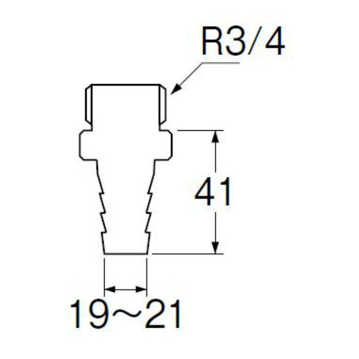 T280-19 PCホースニップル
