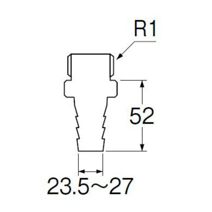 T280-25 PCホースニップル