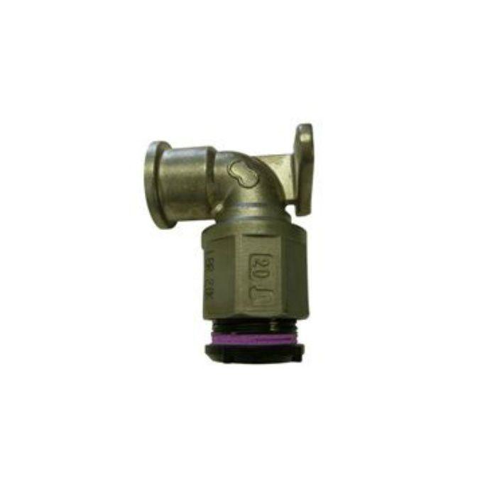 AJFPザツキWL  アバカスFP継手  座付給水栓エルボ 20X3/4
