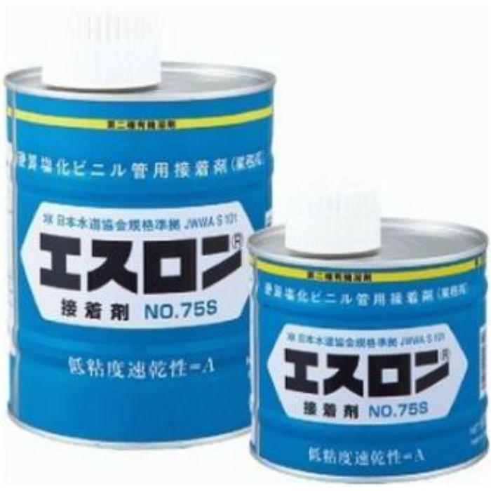 エンビボンドNO75 塩ビ接着剤 No.75S 【PVC 小口径用 色:透明】 500G