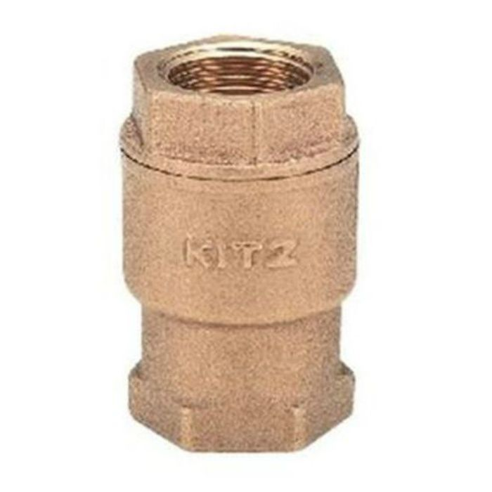 RF 青銅スプリング付リフトチャッキ弁 10K・NBRジスク入 32A