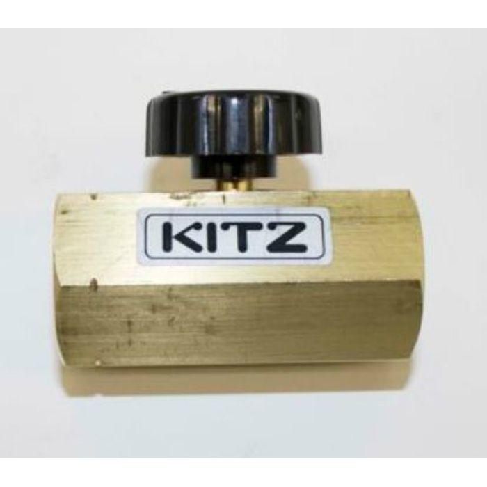 BSGV 黄銅 圧力計用ゲージバルブ 20K 10A