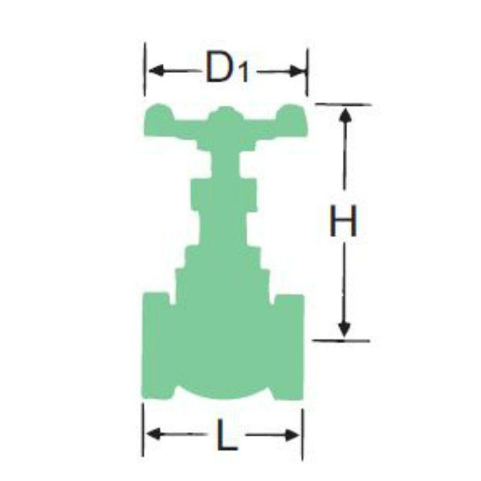 125CBD-N 青銅ジスク入グローブ弁 15A