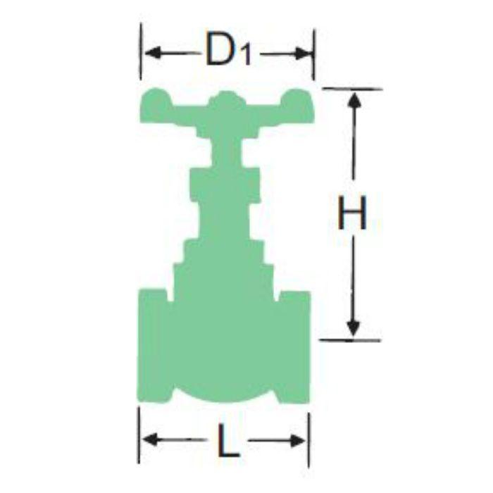 125CBG-N 青銅グローブ弁 20A