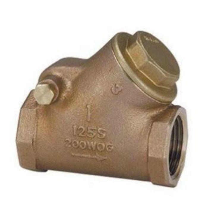 125HBNS-N 青銅スイングチェッキ弁 20A