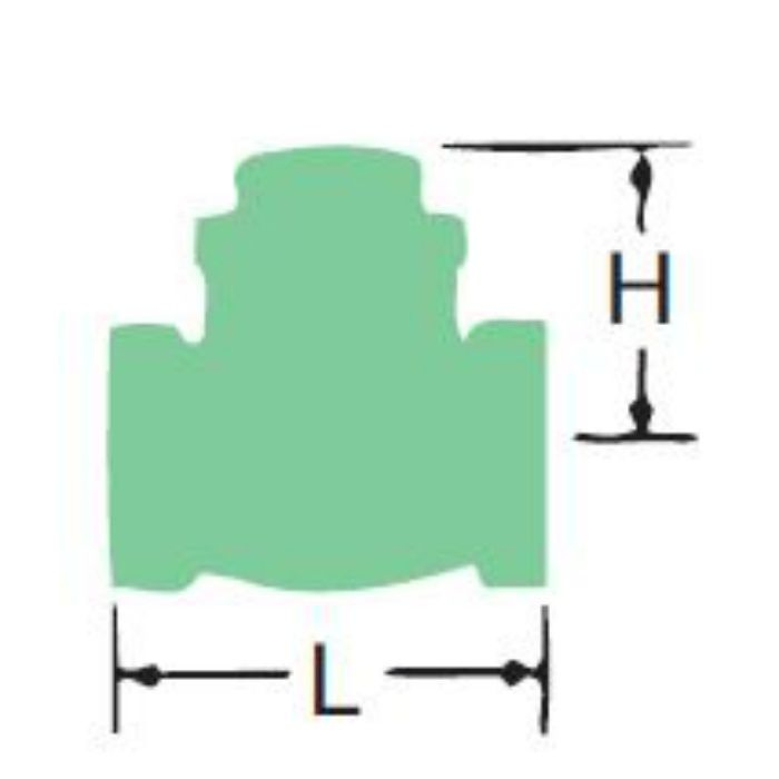 150EBN-N 青銅リフトチェッキ弁 25A