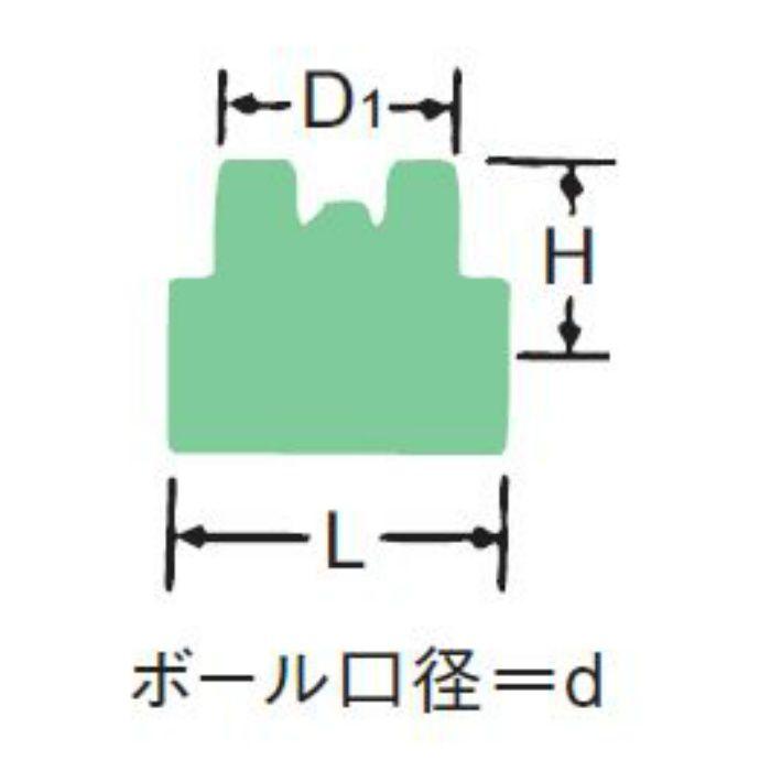 600RB-N-T 黄銅ボール弁【蝶ハンドル】 8A