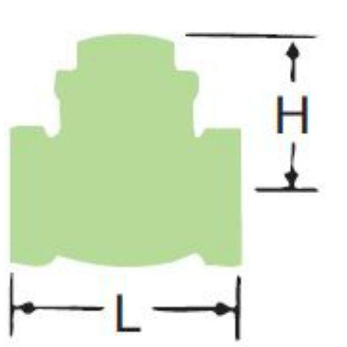 LJ10BNS-HN-N 無鉛くん青銅コアスイングチェッキ弁【給湯用】 40A