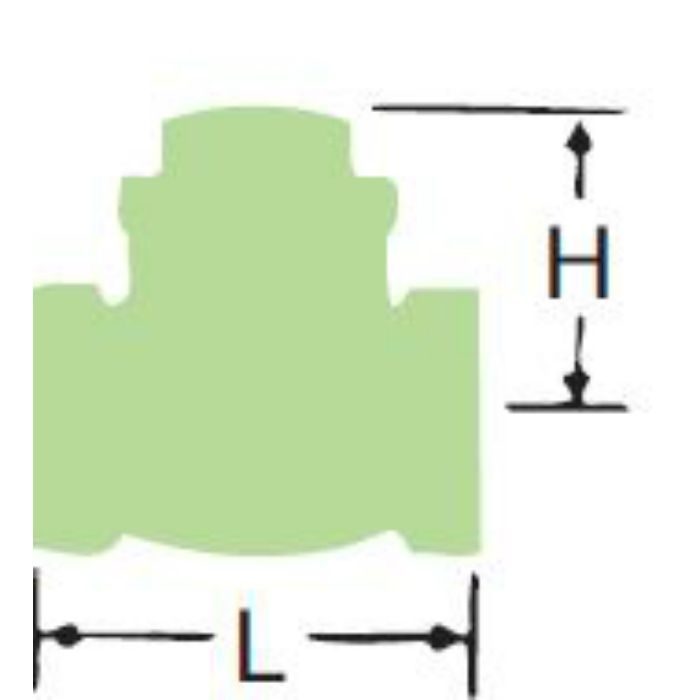 LJ10BNS-SK-N 無鉛くん青銅コアスイングチェッキ弁 20A