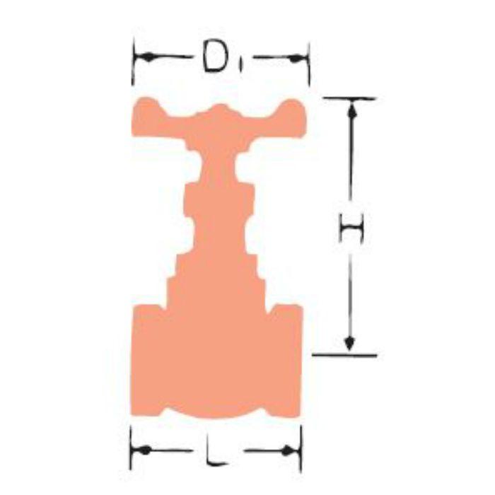 UG-N SCS13グローブ弁 15A