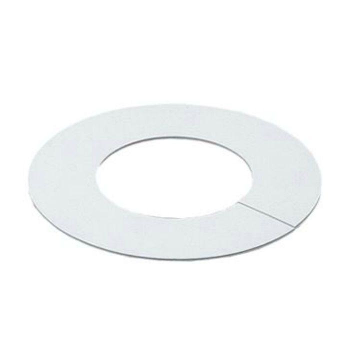 6217W-100 配管穴カバー用プレート ビニールプレート ホワイト