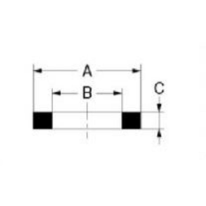 794-045-25 パッキン・ストレーナー 高強度ノンアスベストパッキン