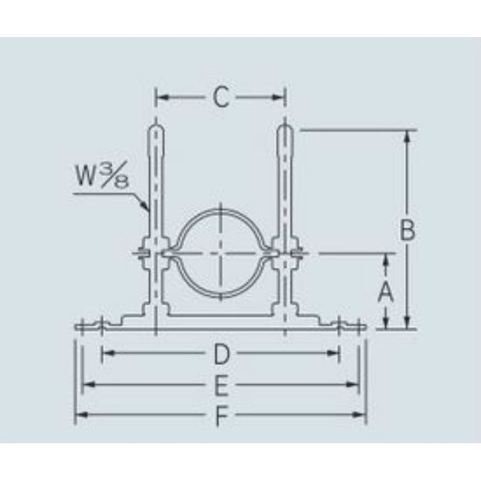 625-455-100D 配管固定バンド レベルバンド