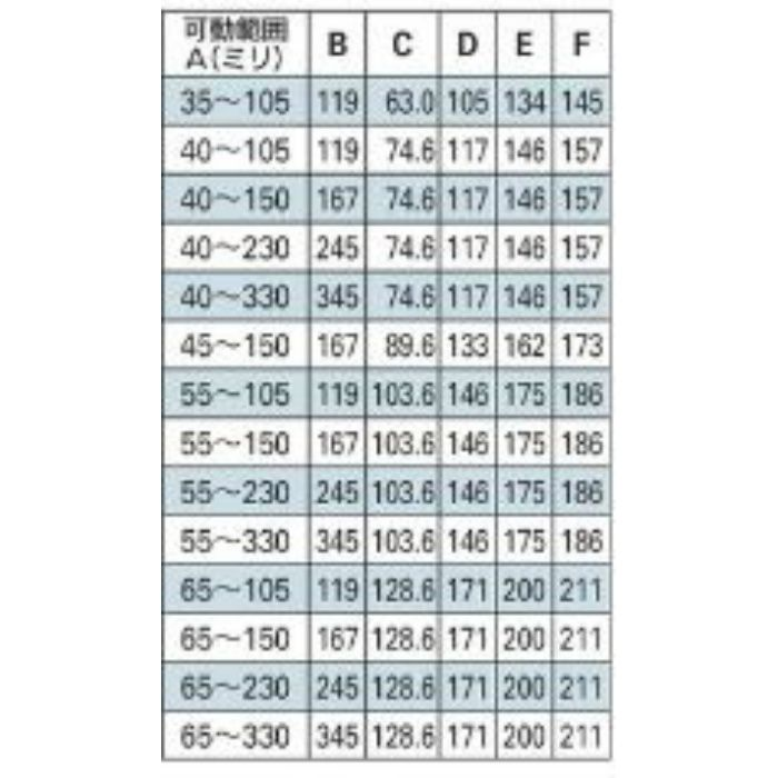 625-456-65B 配管固定バンド レベルバンド