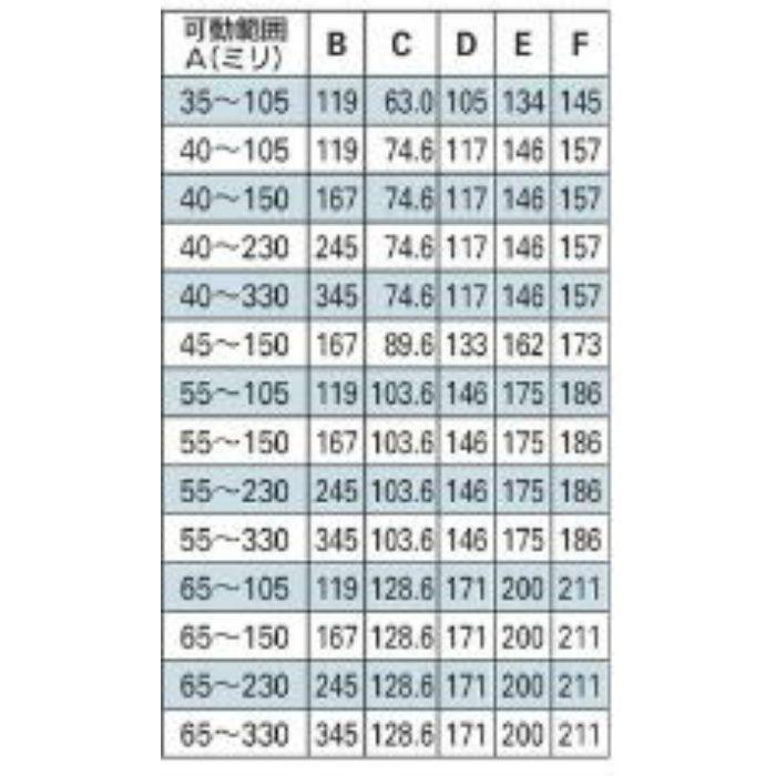 625-456-100B 配管固定バンド レベルバンド