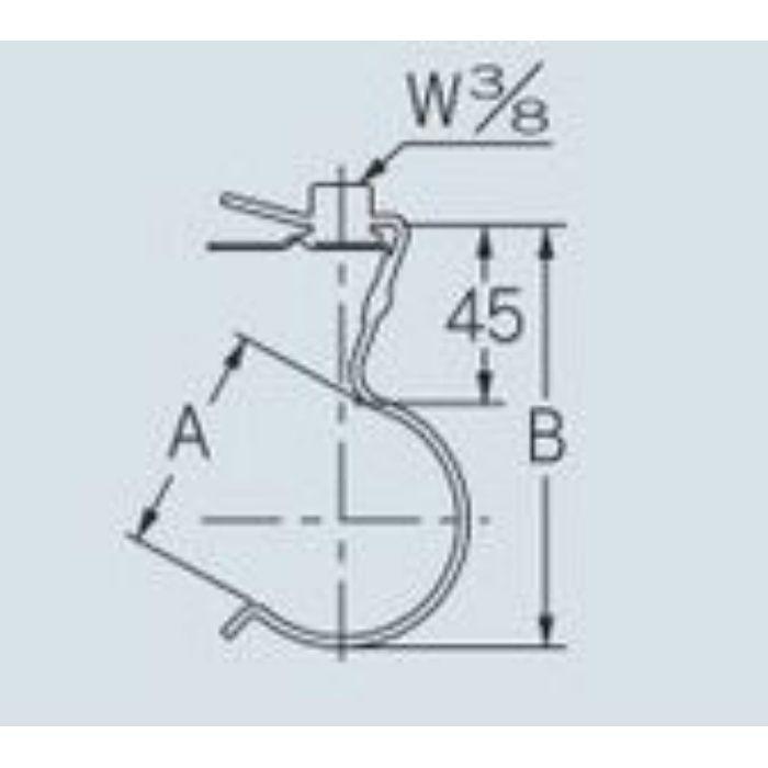 625-250-75 配管固定バンド 吊バンド