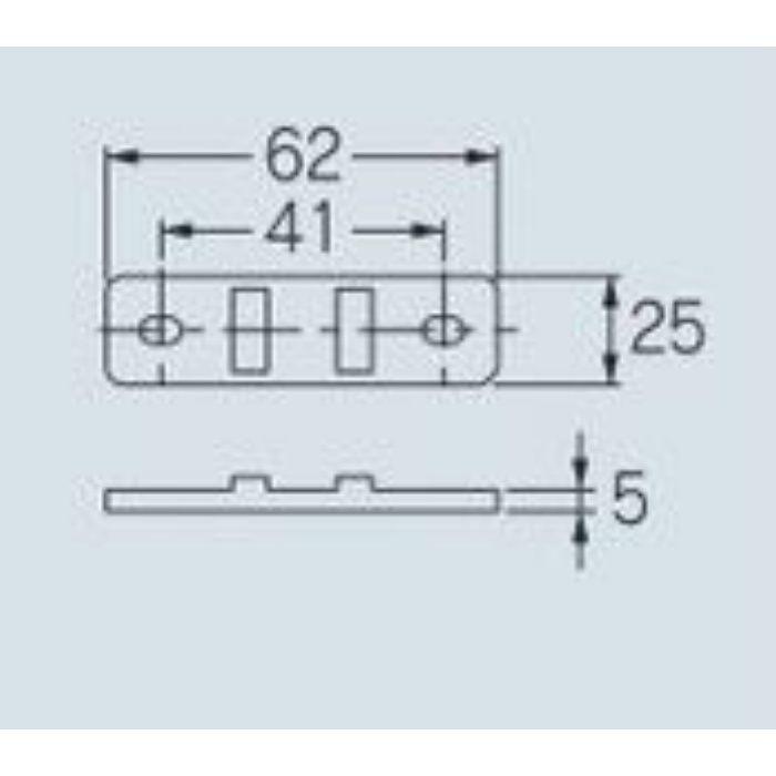 625-110-15 サドルバンド 樹脂サドルバンド台座(3個入)