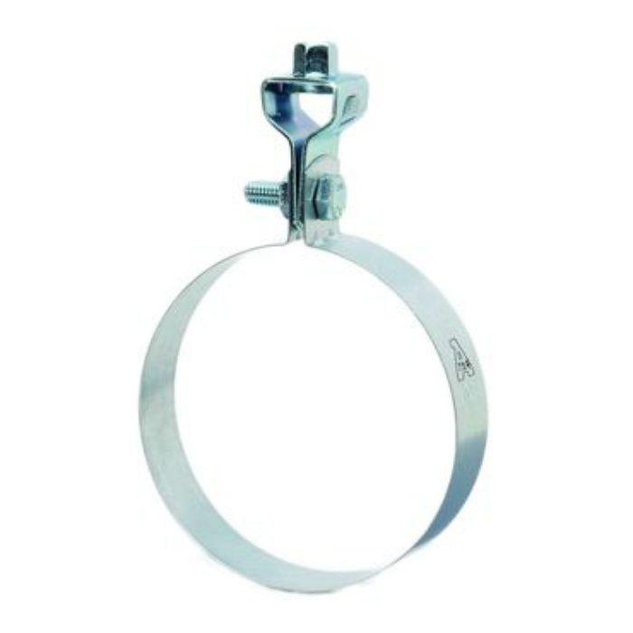 A15517 亜鉛鋼板 SP換気ダクト管用 吊バンド タン付 100