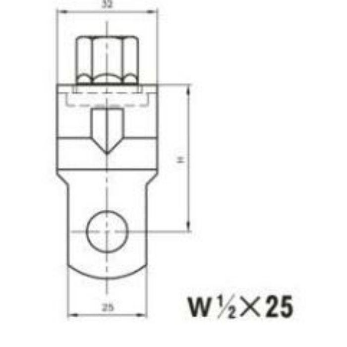 A10316 吊用タンバックル SUS304製 W3/8