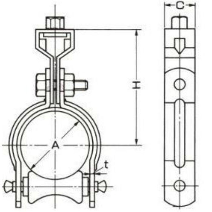 A10593 組式ローラーバンド SGP用 65A