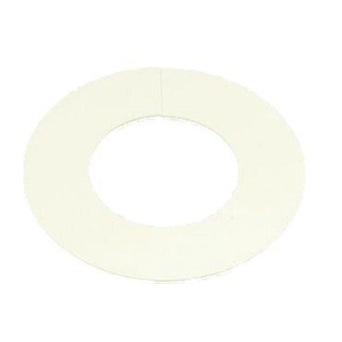 A10691 ビニプレート のり付 (白) 100A