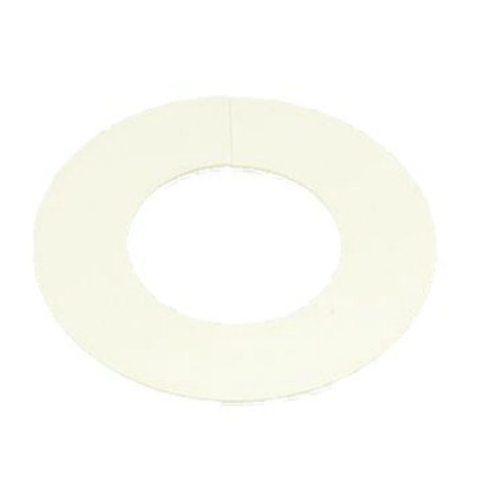 A10691 ビニプレート のり付 (白) 50A