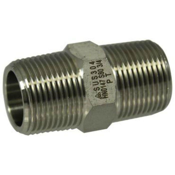 BOW-304PT-HXNI SUS304 高圧 角ニップル 8A