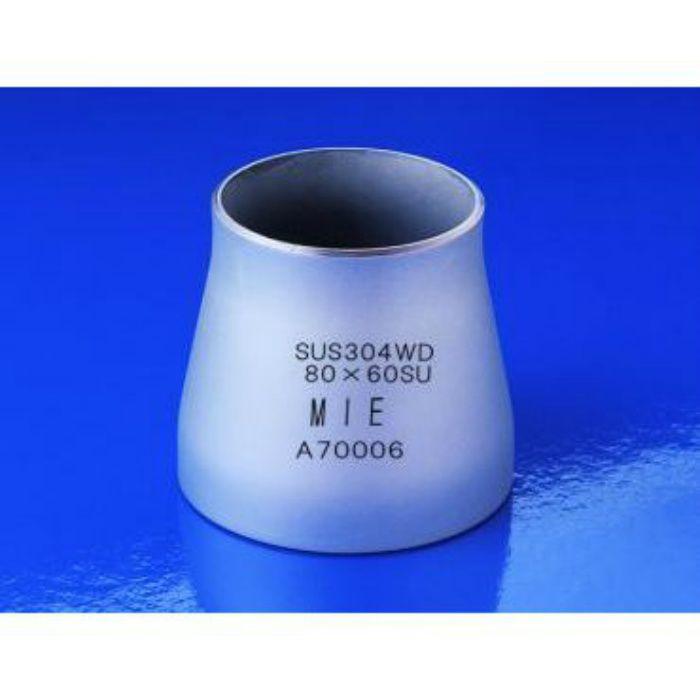 304WDCR SUS304WD コンセントリックレジューサー(同心) 100×80