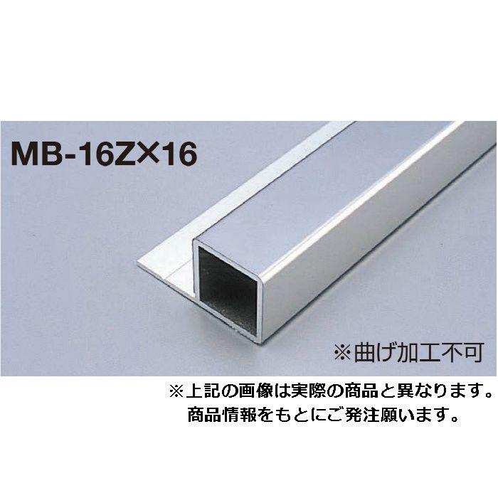 メタブライトMB MB-16Z×16 ヘアーライン 長さ3000mm 1本