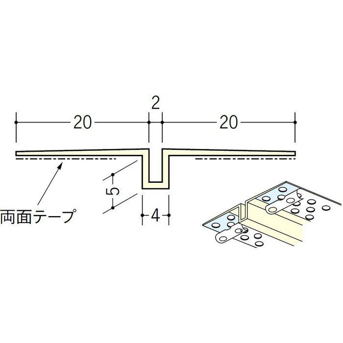 ハット目地2×5穴あき+テープ付 ミルキー 3m 35218-2建材カテゴリ一覧