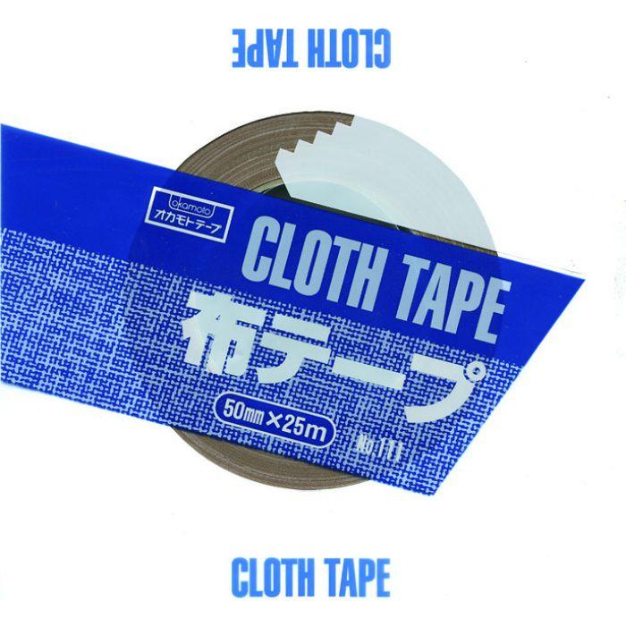 布テープ No.111 クリーム 38mm巾×25m巻 48巻/ケース