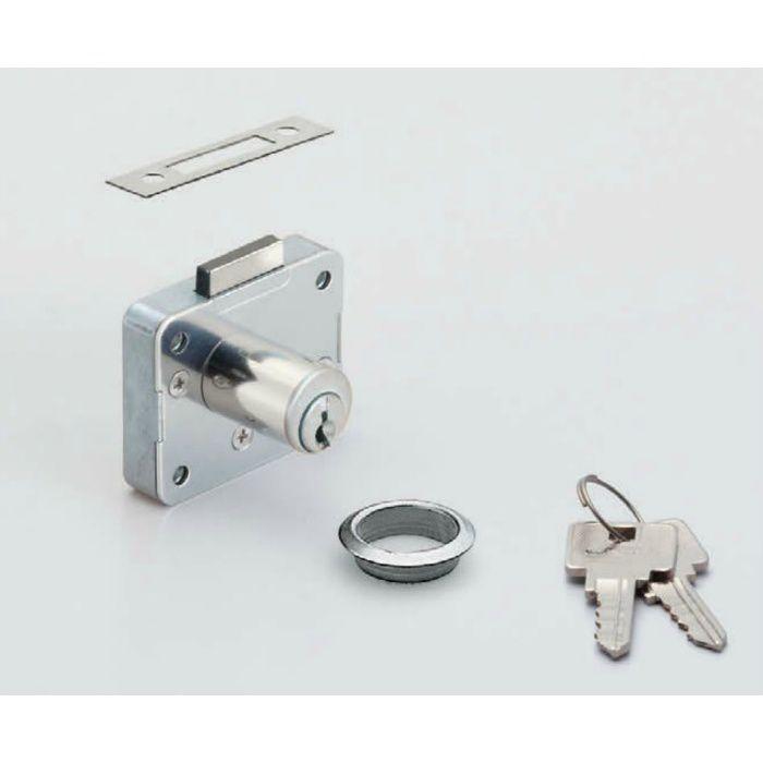 ランプ印面付シリンダー錠2650型(別番) 2650-16-DN-B 150-022-061